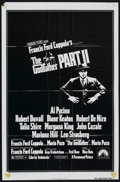 "Movie Posters:Academy Award Winner, The Godfather Part II (Paramount, 1974). One Sheet (27"" X 41"").Academy Award Winner...."