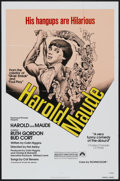 "Movie Posters:Comedy, Harold and Maude (Paramount, R-1979). One Sheet (27"" X 41"").Comedy...."