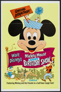 "Movie Posters:Animated, Mickey Mouse Happy Birthday Show (Buena Vista, 1968). One Sheet(27"" X 41""). Animated...."