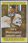 "Movie Posters:Drama, To Kill a Mockingbird (Universal, 1963). One Sheet (27"" X 41"").Drama...."