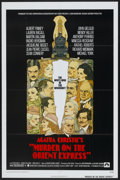 """Movie Posters:Mystery, Murder on the Orient Express (Paramount, 1974). One Sheet (27"""" X 41""""). Mystery...."""