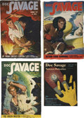 Books:Periodicals, Doc Savage (Street & Smith, 1948-49) - Final FourIssues....