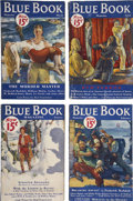 Books:Periodicals, Blue Book (McCall, 1933-37) Group of 55.... (Total: 55Items)