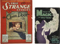 Books:Periodicals, Tales of Magic and Mystery/True Strange Stories(1927-29) Group of 2.... (Total: 2 Items)