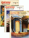Magazines:Science-Fiction, Galaxy Group (Universal Publishing, 1951-53) Condition: AverageVG.... (Total: 17 Items)