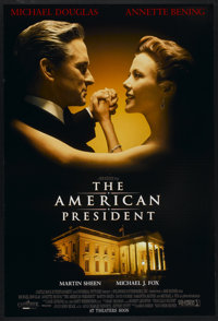 "The American President (Columbia, 1995). One Sheet (27"" X 40"") DS. Romance"