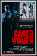 "Movie Posters:Exploitation, Caged Women (MPM, 1984). One Sheet (27"" X 41""). Action.. ..."