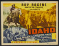 "Movie Posters:Western, Idaho (Republic, 1943). Lobby Card Set of 8 (11"" X 14"").Western.... (Total: 8 Items)"