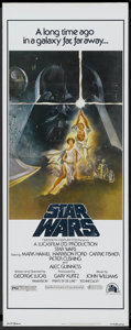 "Movie Posters:Science Fiction, Star Wars (20th Century Fox, 1977). Insert (14"" X 36""). ScienceFiction...."