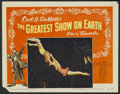 "Movie Posters:Drama, The Greatest Show On Earth (Paramount, 1952 and R-1967). Lobby Cards (8) (11"" X 14""). Drama.... (Total: 8 Items)"