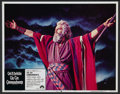 """Movie Posters:Historical Drama, The Ten Commandments (Paramount, R-1972). Lobby Card Set of 8 (11""""X 14""""). Historical Drama.... (Total: 8 Items)"""