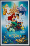 "Movie Posters:Animated, The Little Mermaid Lot (Buena Vista, 1989). Mini Posters (2)(17.75"" X 27""). Animated.... (Total: 2 Items)"