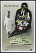"""Movie Posters:Documentary, It's All True (Paramount, 1993). One Sheet (27"""" X 40"""") SS.Documentary...."""