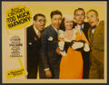 """Movie Posters:Comedy, Too Much Harmony (Paramount, 1933). Lobby Card (11"""" X 14""""). Comedy...."""