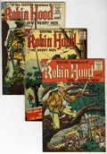 Silver Age (1956-1969):Adventure, Robin Hood and His Merry Men #28, 29, and 33 Group (Charlton, 1956).... (Total: 3 Comic Books)