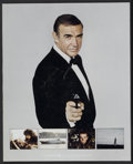 """Movie Posters:James Bond, Never Say Never Again (Warner Brothers, 1983). ExhibitorsPromotional (14"""" X 17""""). James Bond...."""