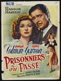 """Movie Posters:Drama, Random Harvest (MGM, 1940s). First Belgian Release Poster (14.25"""" X 19.5""""). Drama...."""