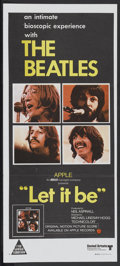 "Movie Posters:Rock and Roll, Let It Be (United Artists, 1970). Australian Daybill (13"" X 30"").Rock and Roll...."