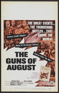 "Movie Posters:Documentary, The Guns of August (Universal, 1965). Window Card (14"" X 22""). Documentary...."