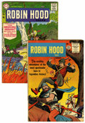 Silver Age (1956-1969):Adventure, Robin Hood Tales #1 and 8 Group (DC/Quality, 1956-57).... (Total: 2 Comic Books)
