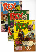 Silver Age (1956-1969):Adventure, Adventures of Rex the Wonder Dog Group (DC, 1956-58).... (Total: 8 Comic Books)