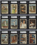 Baseball Cards:Sets, 1959 Fleer Ted Williams High Grade Near Set (79/80)....