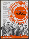 Movie Posters:Western, The Big Country (United Artists, 1958). Pressbook (Multiple Pages). Western....
