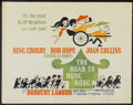 "Movie Posters:Comedy, The Road to Hong Kong (United Artists, 1962). Half Sheet (22"" X 28""). Comedy...."