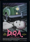 "Movie Posters:Rock and Roll, D.O.A. (High Times Films, 1980). Poster (23.25"" X 32.5""). Rock andRoll...."