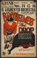 "Movie Posters:Sports, The Drop Kick (First National, 1927). Window Card (14"" X 22""). Sports...."