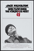 "Movie Posters:Academy Award Winner, One Flew Over the Cuckoo's Nest (United Artists, 1975). One Sheet(27"" X 41"") Flat-Folded. Academy Award Winner...."