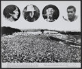 "Movie Posters:Rock and Roll, Woodstock (Warner Brothers, 1970). Deluxe Stills (9) (11"" X 14"").Rock and Roll.... (Total: 9 Items)"