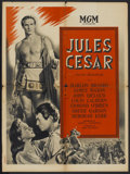 "Movie Posters:Drama, Julius Caesar (MGM, 1953). French Petite (23.5"" X 31.5"") and Herald(8.25"" X 10.5""). Drama.... (Total: 2 Items)"