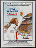 "Movie Posters:Sports, Le Mans (National General, 1971). Poster (30"" X 40""). Sports...."