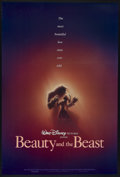"Movie Posters:Animated, Beauty and the Beast (Buena Vista, 1991). One Sheet (27"" X 40"") DS Advance. Animated...."