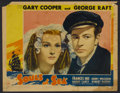 """Movie Posters:Adventure, Souls at Sea (Paramount, 1937). Lobby Cards (3) (11"""" X 14"""").Adventure.... (Total: 3 Items)"""