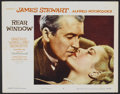 "Movie Posters:Hitchcock, Rear Window (Paramount, R-1960). Lobby Card Set of 8 (11"" X 14"").Hitchcock.... (Total: 8 Items)"