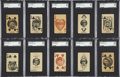 Baseball Cards:Lots, 1927 W560 Baseball SGC-Graded Collection (23) Including Hall ofFamers....