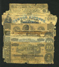 Confederate Notes:Group Lots, Problem Notes.. ... (Total: 8 notes)