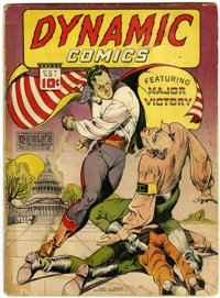 Dynamic Comics #1 (Chesler, 1941) Condition: GD-