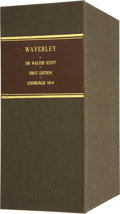 Books:First Editions, Clamshell Conservation Case for Scott's Waverley....