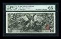Large Size:Silver Certificates, Fr. 268 $5 1896 Silver Certificate PMG Gem Uncirculated 66 EPQ....