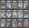 Baseball Cards:Sets, 1969 Topps Baseball High-Grade Complete Set (664) Including 156 Graded Cards....