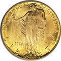 Commemorative Gold: , 1926 $2 1/2 Sesquicentennial MS65 PCGS. Because of the low-reliefdesign, examples of this issue that are well struck up ca...