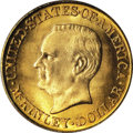 Commemorative Gold: , 1916 G$1 McKinley MS66 PCGS. The obverse of the McKinley Memorialdollar was the final issued design attributed to Chief En...