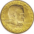 Commemorative Gold: , 1922 G$1 Grant no Star MS66 PCGS. The Grant With Star and No Stargold dollars are today available in about equal numbers, ...