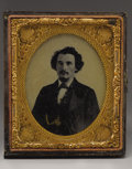 Military & Patriotic:Civil War, Pre-War Ambrotype of Confederate Surgeeon Dr. Samuel H. Caldwell, of General Forrest's Command. Dr. Samuel Houston Caldwell ...