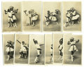 "Antiques:Black Americana, A Marvelous Series of Ten (10) French, Real-photo PostcardsFeaturing Black Children Performing a Dance Entitled ""LeCake-Walk..."