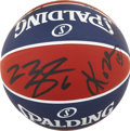 Basketball Collectibles:Balls, 2008 US Olympics Team Signed Basketball....
