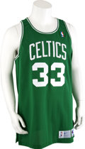 Basketball Collectibles:Uniforms, 1991-92 Larry Bird Game Worn Jersey....